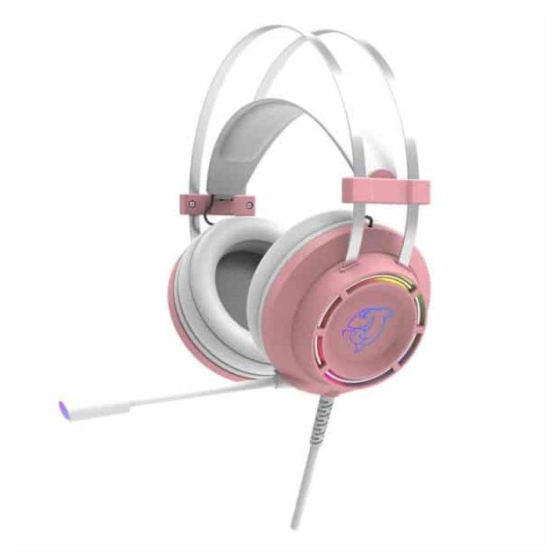 Tai nghe Ajazz DHG160 Pink
